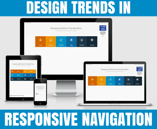 Design Trends in Responsive Navigation: Best Practices 2015 | NOUPE