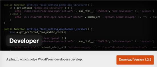 developer-wordpress-plugin