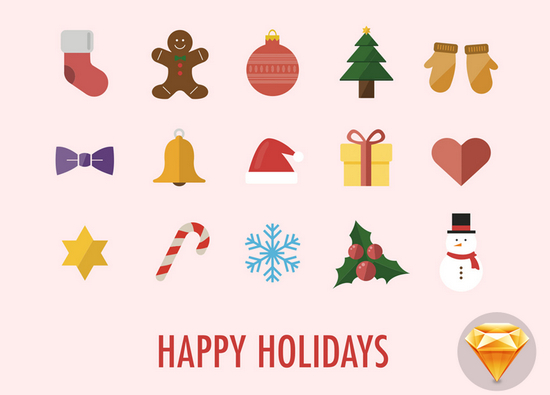 holidays icons