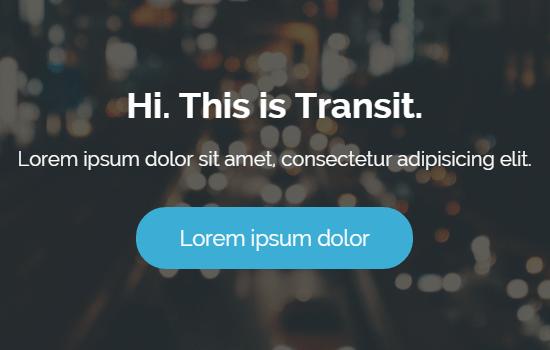 Transit: Minimal Template