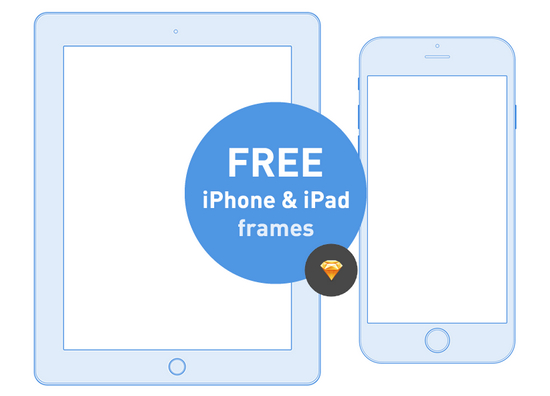 iphone and ipad frames