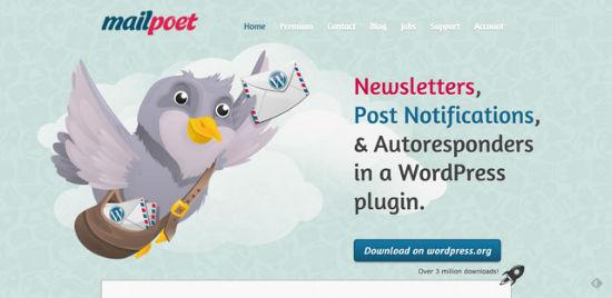 MailPoet Newsletters for WordPress