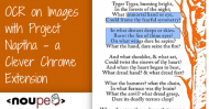 OCR on Images with Project Naptha – a Clever Chrome Extension