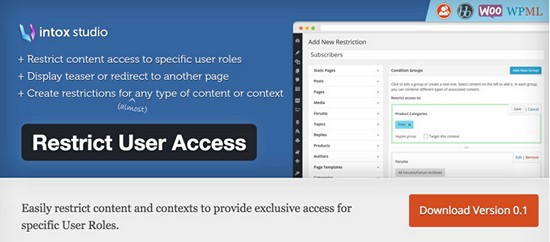 restrict-user-access