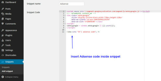 Code Snippets Extended