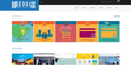 seoul web design