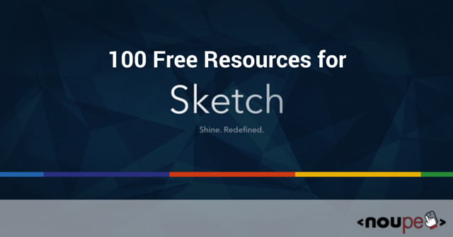 100 Free Resources for Sketch