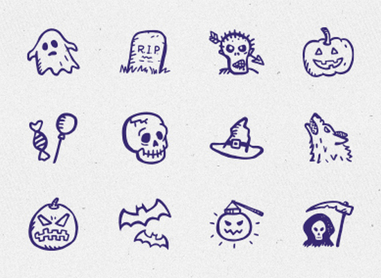 spooky icons