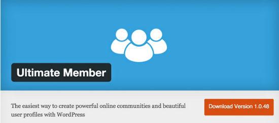 The Ultimate Member Plugin for WordPress