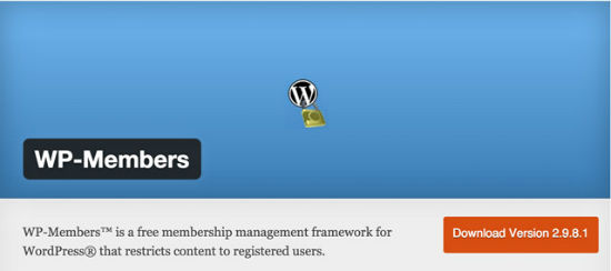 The WP-Members Plug-in for WordPress