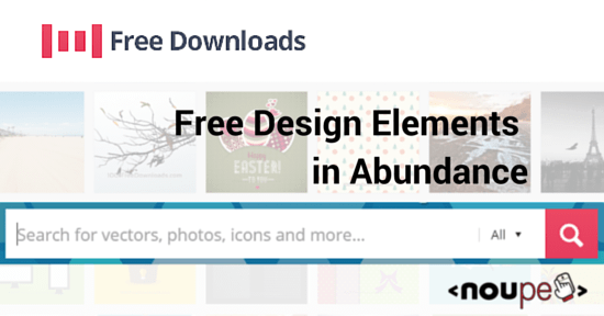 1001FreeDownloads: Free Design Elements in Abundance