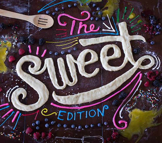 food edition - letterings