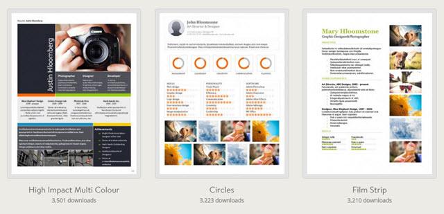 hloom-portfolio-templates