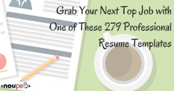 Grab Your Next Top Job with One of These 279 Professional Resume Templates