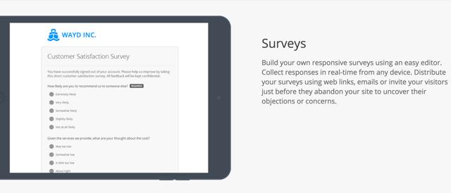 Hotjar Surveys