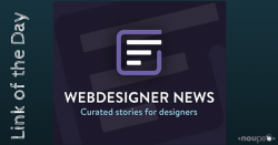 Link of the Day: Webdesigner News – All the Latest and Greatest in Web Design and Development