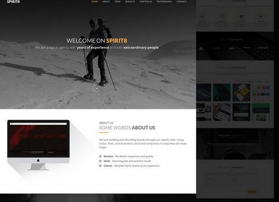SPIRIT8 HTML
