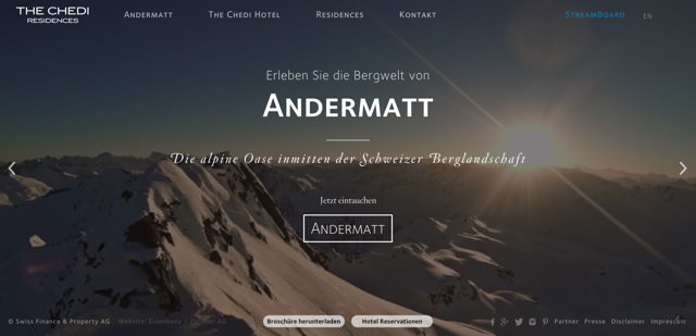 Chedi Andermatt Residences
