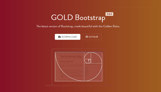 gold bootstrap