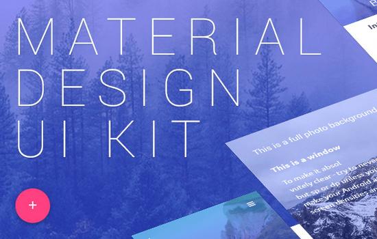 Material Design UI Pack