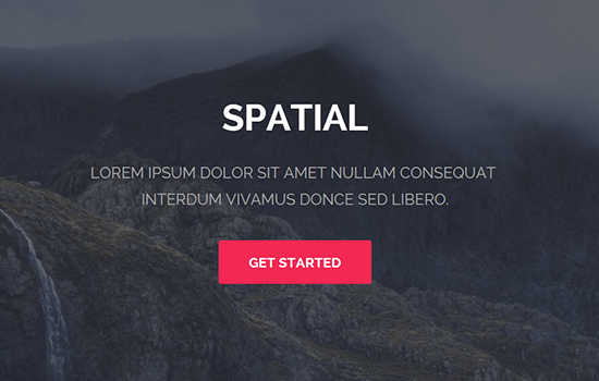 Spatial HTML Template