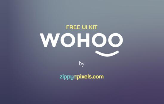 Wohoo: Mobile UI Kit