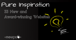Pure Inspiration: 33 New and Award-Winning Websites