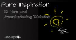 Pure Inspiration: 33 New and Award-Winning Websites