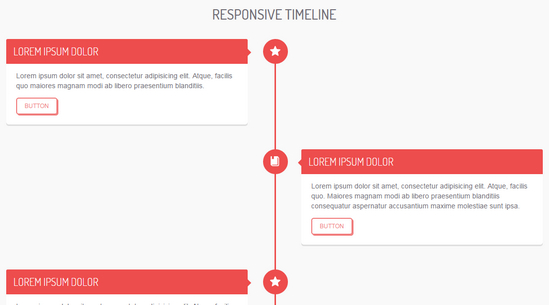 responsive timeline by bruno