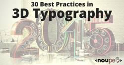 30 Best Practices in 3D Typography
