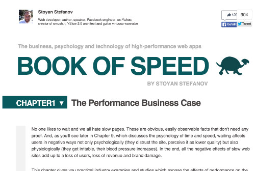 Book of Speed