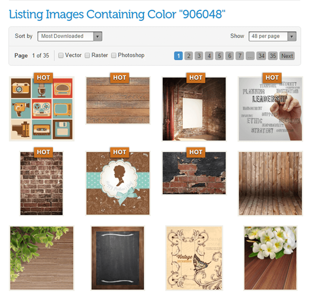 graphicstock-searchbycolor