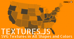 Textures.js: SVG Textures in All Shapes and Colors