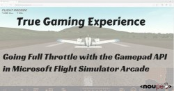 True Gaming Experience: Going Full Throttle with the Gamepad API in Microsoft Flight Simulator Arcade