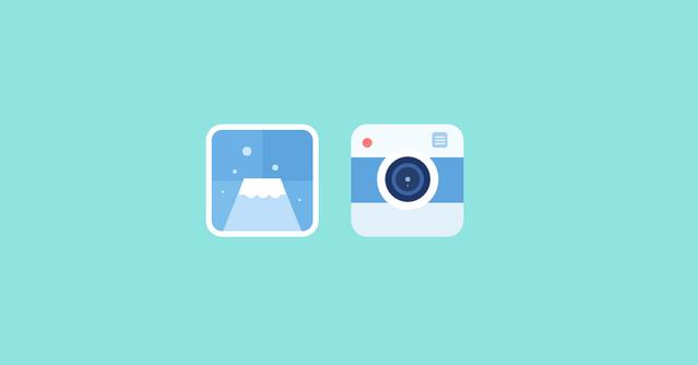 bluish fkat icons