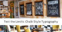 Test the Limits: Chalk Style Typography