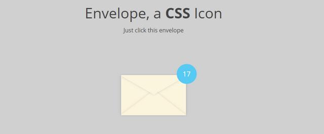 envelope css icon