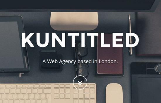 Kuntitled: HTML Workspace Portfolio Theme