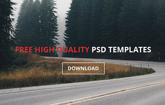 Lander PSD & HTML Single-page Website Template