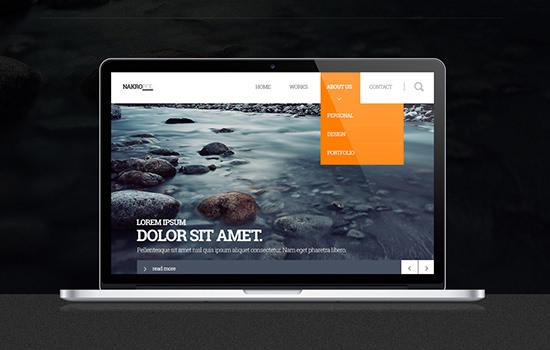 Nakropol: Free Minimal PSD Web UI Kit
