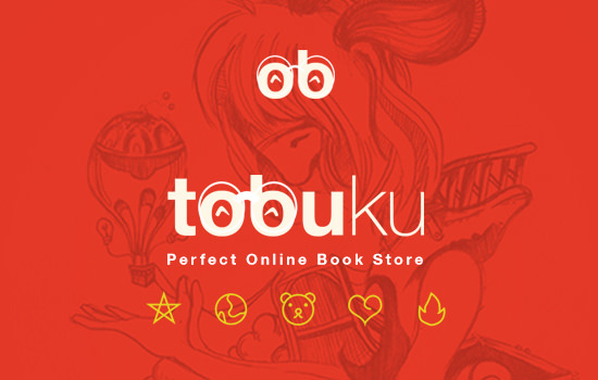 Tobuku: Online Book Based PSD UI Kit
