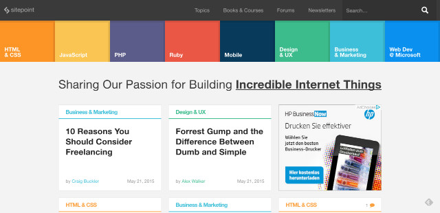 The 11 Most Important Web Design Blogs In 2015 Noupe