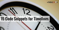 15 Code Snippets for Timelines