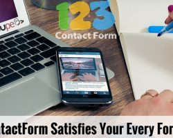 123ContactForm Satisfies Your Every Form Need