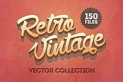 Deal of the Week: Retro Vintage Vector Collection at a 99 Percent Rebate