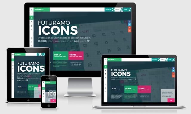 FUTURAMO-ICONS