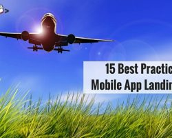 15 Best Practices of Mobile App Landing Pages
