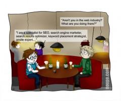 Cartoon: SEO