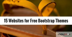 15 Websites for Free Bootstrap Themes
