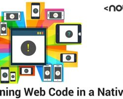 Designing Web Code in a Native App